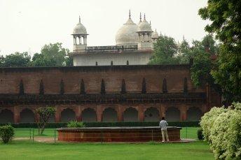 Le Fort d'Agra - Citerne, puits ?