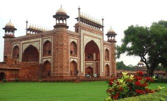 Entrée du Taj Mahal