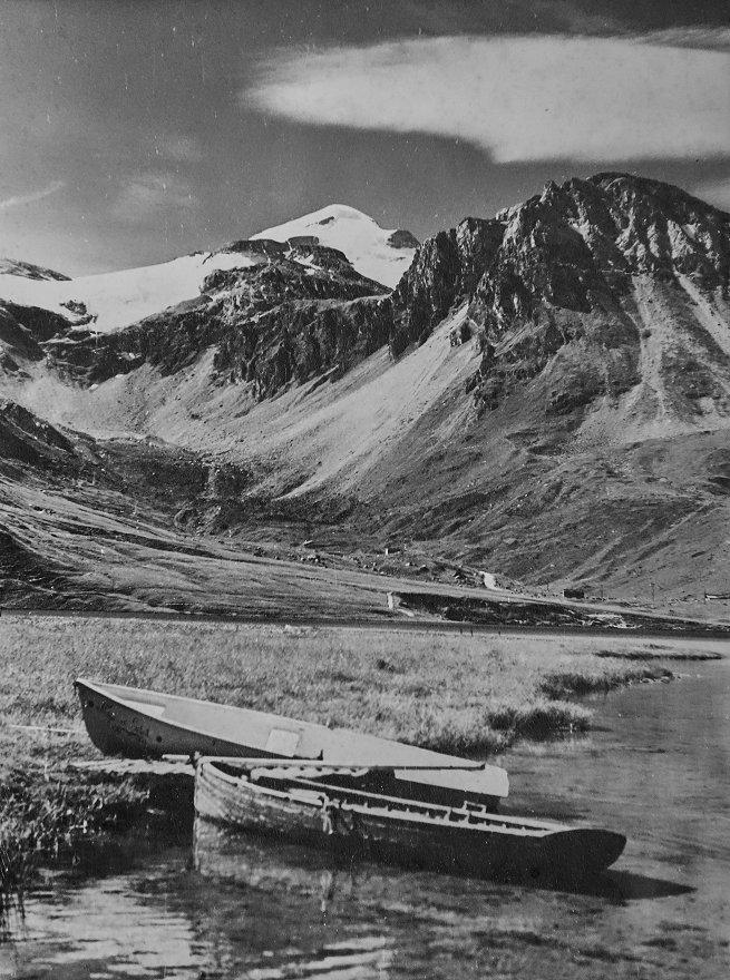 Lac de Tignes - Val Claret, sous la Grande Motte (1967)