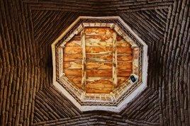 Détail du toit du bassin des ablutions