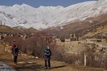 Départ de Khafr (2150 m)