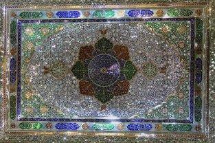 Mosaïques de miroirs (plafond)