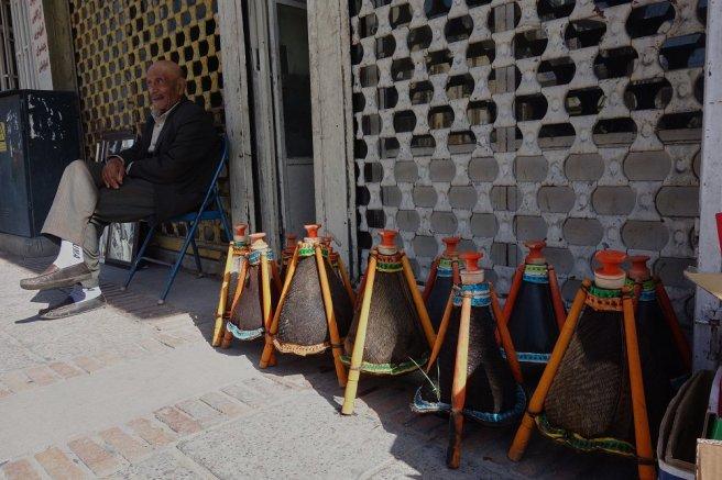 Vendeur d'outres de Shiraz