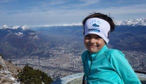 Alors Titouan, le Mont-Blanc, c'est derrière toi !