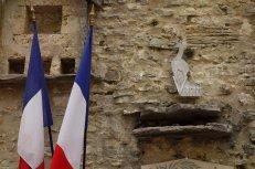 Symbole du maquis du Vercors : le chamois bondissant