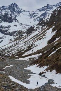 Dam's exploite la neige jusqu'au bout !