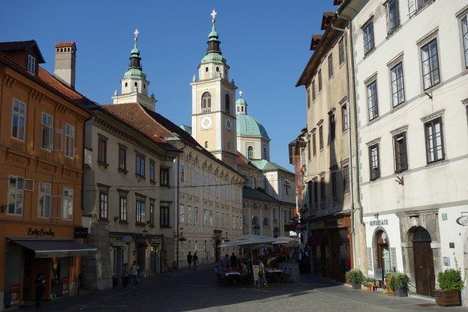 Centre-ville de Ljubljana