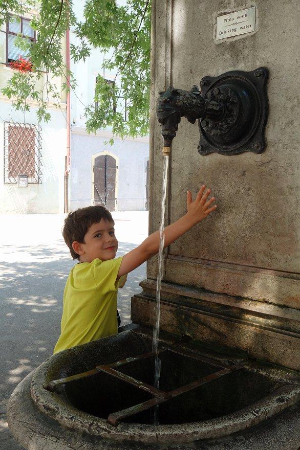 Fontaine magique !