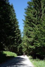 Montée au col Rovtarica