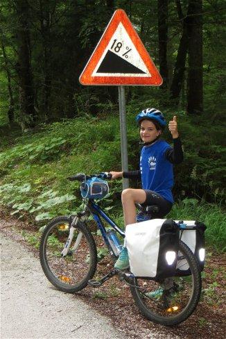 Les routes slovènes et leur légendaire coups de culs !