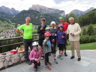 Gouter improvisée dans le Val Gardena