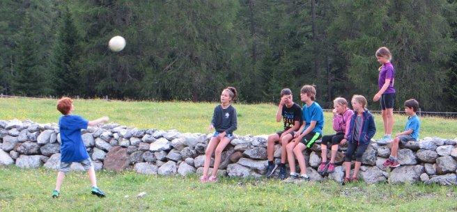 Des copains suisses rencontrés au bivouac sous le Val Mora