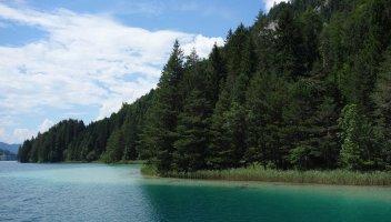 Lac de Weissensee - Berge Est