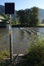 Bivouac de Dellach - Station hydrométrique