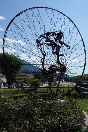 Art vélocypédique à Oberdrauburg