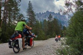 Val di Landro - En montant le Passo di Cimabanche
