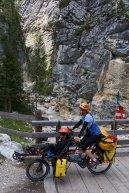 Début de la montée du Val di Fanes