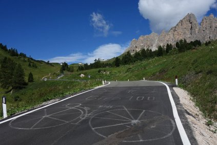 Sur la route du Giro