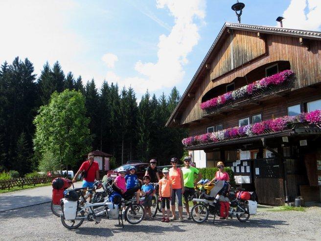 Groupetto au départ du camping de Tassenbach