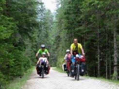 Descente du Passo Cimabanche