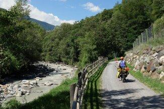 Le long de l'Adige