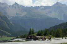 Montée du Berninapass
