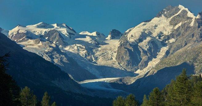 Glaciers de la Bernina
