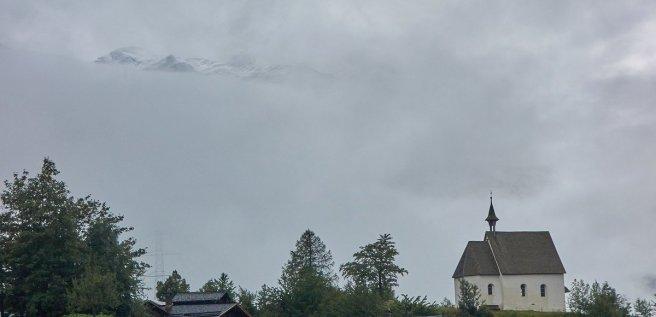 Temps humide dans la vallée des Conches