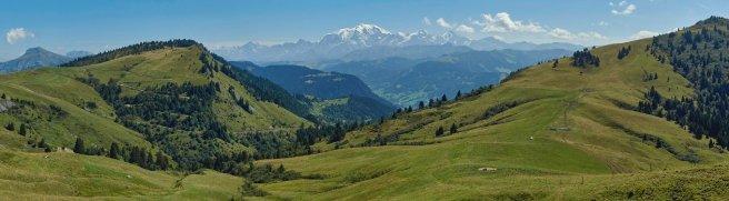 Val d'Arly et Mont-Blanc