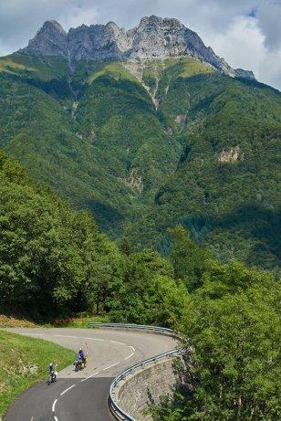 Descente sur la vallée de l'Isère