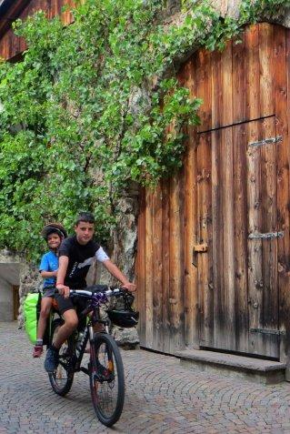 Dans les rues de Glorenza