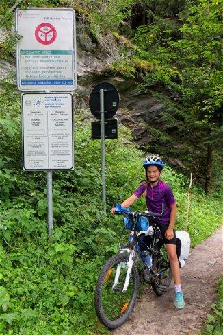 Frontière Suisse, avant Munstair