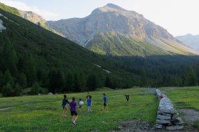 Bivouac dans le Val Vau
