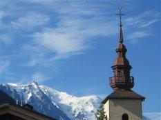 Mont-Blanc, clocher d'Argentière