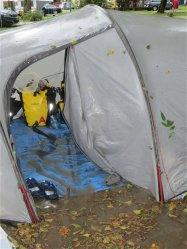 Inondation au camping de la Nublière !