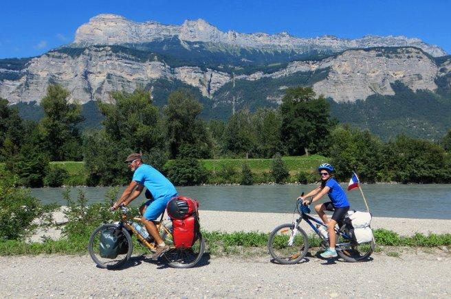 Berge de l'Isère, face à la Chartreuse