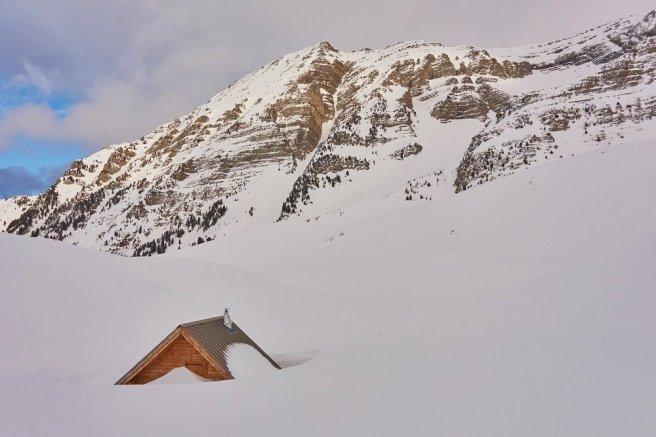 Cabane de berger sous le col de Vautreuil
