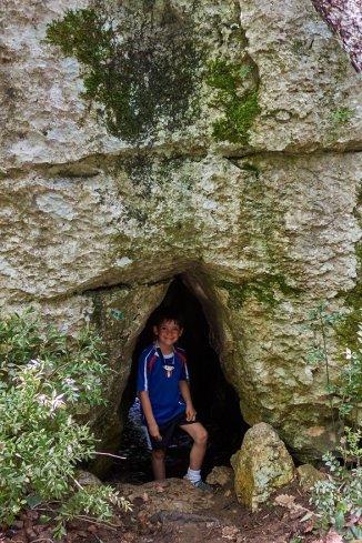 Bois de Païolive, tunnels