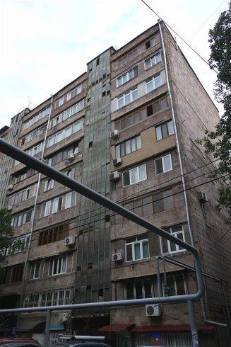 Tbilissi et ses conduites de gaz aériennes
