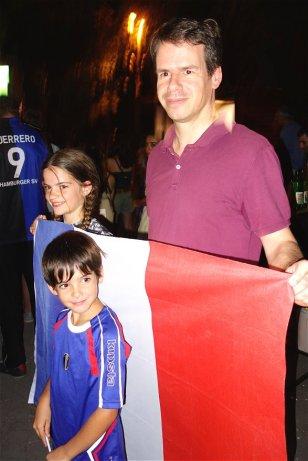 Avec l'Ambassadeur de France en Arménie