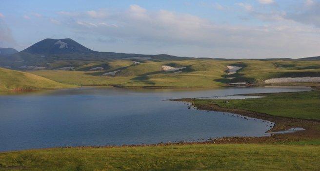 Site de bivouac à l'Akna Lich
