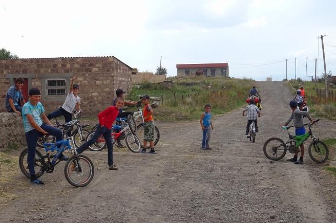 Rassemblement de petits vélos !