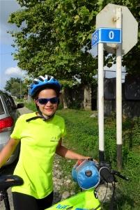 Ca y est : KM 0, nous sommes à Zugdidi !