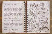 Le livre d'or du camping des 3Gs, une véritable oeuvre d'art !