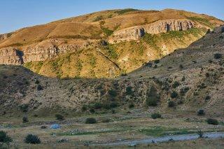 Site de bivouac au pied du Selim Pass