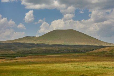 Joli volcan après le Selim pass