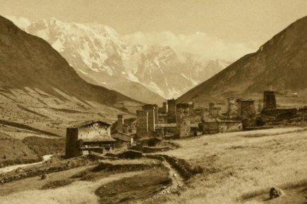 Ushguli autour de 1890