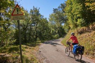 Petite route en rive gauche du Drac