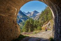 Joli tunnel sous la vallée des Merveilles