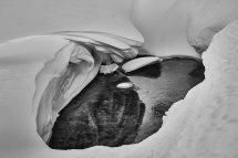 Sculpture neigeuse